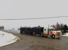 Hince (jr-transport) Tags: flat deck custom heavy peterbilt paccar trainssuperb
