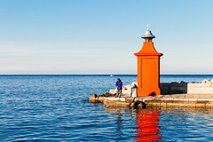 Leisure (If not NOW... when?) Tags: city travel light sea canon europe euro slovenia piran 5d3 5diii