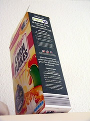 Cornflakes kellogs box 25th September 2013  25-09-2013 10-25-06 (dennoir) Tags: box september 25th cornflakes kellogs 2013 102506 25092013
