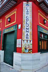 Bar Seville Columns , Triana's Neighborhood, Sevilla ,Spain (Bar Las Columnas de Sevilla, Barrio Triana, Sevilla Espaa) (j_santander74) Tags: espaa architecture canon sevilla spain arquitectura europa europe seville andalucia tapas canonrebel andalusia triana taberna lascolumnas barriodetriana barsevilla rebelxsi canonrebelxsi450d patiosaneloy sevillianarchitecture andaluciaarchitecture trianasneighborhood lascolumnasdesevilla barsevillecolumns