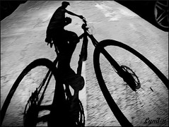 05/52 Shadows {EXPLORE} (Lyndon (NZ)) Tags: shadow bike bicycle fuji gimp cycle 2016 xs1 week5theme fujifilmxs1 52weeksthe2016edition week52016 weekstartingfridayjanuary292016