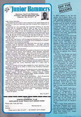 West Ham United vs Everton - 1984 - Page 25 (The Sky Strikers) Tags: park west hammer canon one official kodak united ham division league programme upton everton