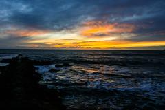 Sunrises are romantic..... (Adrian Costigan.) Tags: ireland sky irish sun sunlight nature canon eos dawn waterscape