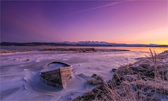 Winter Morning (Frank S. Andreassen) Tags: morning winter light sky cold ice nature colors norway river frank landscape coast boat frozen colorful frost nordnorge andreassen nettfoto