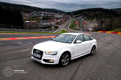 Audi A4 S Line (MacLeanPhotographic) Tags: white car audi roadcar audia4 roadtest