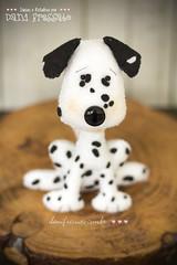 Dlmata Personalizado (Dani_Fressato) Tags: dog handmade artesanato craft felt cachorro feltro patch dlmata trabalhomanual ideias retalhos danifressato