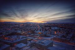 Iceland 2016 - February (samweis16) Tags: winter sky snow color sunrise island iceland reykjavik sonnenaufgang