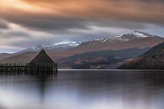 Loch Tay (yetistuart) Tags: november sunset water scotland fuji tay loch elia xt1 locardi