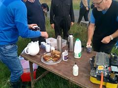 clapham tea break (b4ruralnorth) Tags: yorkshire lancashire jfdi cumbria spades barnstormers heroines b4rn digitalbritain ladiesofgrit