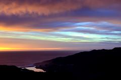 Fort Cronkhite (JINfotografo) Tags: ocean california blue sunset orange northerncalifornia clouds landscape nikon horizon cyan pacificocean goldengate headlands marincounty marinheadlands ftcronkhite hawkhill fortcronkhite d7000