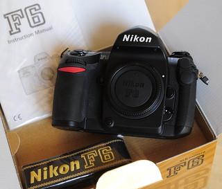 Nikon F6 new unboxing