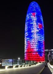 Torre Agbar (Niklas H. Braun) Tags: barcelona travel spain torreagbar niklashbraun