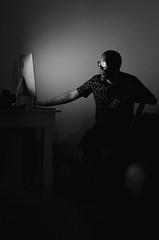 R.U.A. (caiokawasaki) Tags: light people computer mac spot