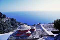-  () Tags: panorama orthodox atos agionoros afon  pravoslavlje  pejza svetagora         kavsokalivija