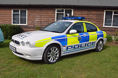LL03VAA (Emergency_Vehicles) Tags: show police service jaguar preserved emergency brooklands merseyside 2015 ll03vaa