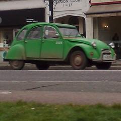 æ (uk_senator) Tags: green 1987 citroen bamboo 2cv 2cv6