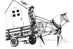 1Agenda1001 (LEJZA) Tags: horse caballo origami dreams utopia imposible carruaje