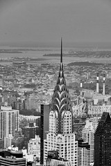 Chrysler Building from top of the Empire. NY, summer 2013 (Emanuele Barcali) Tags: plaza city shadow vacation bw usa ny newyork black bus statue museum brooklyn night skyscraper river liberty grey monocromo us newjersey memorial jerseycity day state withe centralpark harlem manhattan library taxi worldtradecenter broadway newyorkpubliclibrary 5thavenue timessquare brooklynbridge figure eastriver jersey guggenheim hudson marines fifthavenue rockefeller met avenue apollo 5th bigapple metropolitan metropolitanmuseum ellisisland publiclibrary guggenheimmuseum thebigapple blackwithe apollotheater libertystatue metropoli newworldtradecenter neverforgotten avenuegrand oneworldtradecenter centerrockefellerempire buildingempirechrysler evenuelexington centralgrandcentralterminal buildingchryslerstationrailwaypark