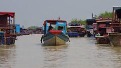 Boot zum Tonle sap (TraumWanderungen.de) Tags: siemreap kambodscha