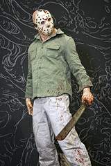 monsterpalooza 2016 - 29 (CE Photogenetix) Tags: show cinema jason halloween monster movie scary mask makeup spooky 80s convention figure horror machete friday fx cinematic con fridaythe13th prop select minature specialeffects voorhees hockeymask efx slasher fridaythethirteenth jasonvoorhees specialefx 80smovie canon40d christinaedwards monsterpalooza specialxf