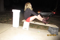 Tonya File 3/27/16 (Tonya Turner) Tags: tgirl tranny frontporch missouritg missouricd tonyaturner missouriwhitetrash