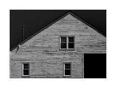 House, Occoquan, VA (sorrellbruce) Tags: old bw house abstract home lines architecture fuji shapes angles textures weathered darksky occoquanva lr6 photoninja colorefexpro framefun silverefexpro fujinon35mmf14 fujixt1 petebridgwoodsharpeningpresets
