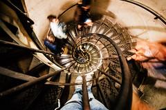 Spiral stairs (_gate_) Tags: street city travel light urban paris france june stairs de spiral photography nikon frankreich europa europe arc triomphe july eu sigma 1020mm fr triumphbogen stiege 2016 2015 d5300
