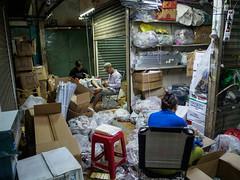 back office (grapfapan) Tags: street travel people work asia market storage vietnam saigon hochiminhcity