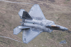 PDF_8656USAF F-22 Raptor Low Level Mach Loop (Pete Fletcher Photography) Tags: