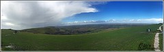 Devils Dyke (Sb's Photography) Tags: panorama clouds landscape brighton scenic bluesky eastsussex iphone devilsdyke iphonepanorama iphone6