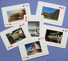 BAY AREA MODERN - South Bay Sampler (hmdavid) Tags: sanfrancisco playing architecture modern cards design modernism 1950s bayarea eastbay 1960s peninsula southbay midcentury northbay