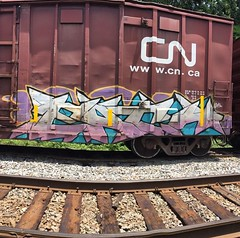 Each (MC. Squared) Tags: graffiti freight each benching