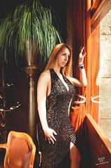 Diana (rubenfcid) Tags: woman hot sexy window girl beautiful beauty lady glamour pretty heels elegant nightdress coctel darkskin cocteldress