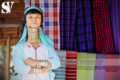 LONG NECK WOMAN - MYANMAR (Sanka G. Vidanagama) Tags: portrait woman female costume clothing asia village burma traditional poor culture jewelry tribal ring clothes exotic longneck myanmar northern ethnic indigenous hilltribe villagelife longneckwoman akhahill dailylifeinmyanmar sankavidanagama sankavidanagamaphotojournalism sankavidanagamatravelphotography myanmardailylife