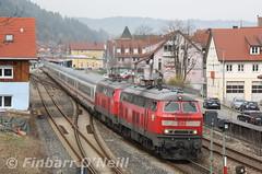 Immenstadt (finnyus) Tags: 218 immenstadt 218456 218495 ic2012