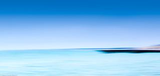 Strand Buhne und Meer