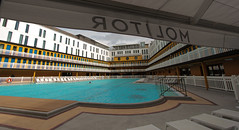 Molitor swimming pool (NaPCo74) Tags: life paris art pool swimming hotel boulogne roland johnny deco extérieur molitor piscine déco bassin hôtel accor garros weissmuller mgallery poolartlife