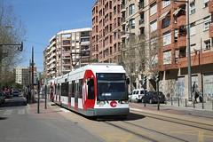 New livery (Maurits van den Toorn) Tags: valencia spain siemens tram streetcar tramway spanien strassenbahn villamos fgv elctrico metrodevalencia