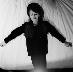Portrait hotel : Twenty-first room VI (lizardking_cda) Tags: portrait bw woman flower sexy art love film fleur girl strange beautiful fashion sex tattoo night analog naked nude fun death hotel noche crazy bed bedroom glamour couple erotic mood underwear nacht witch vampire mort femme gothic sm bondage lingerie nb sensual chick spooky hasselblad lolita amour morbid topless belle shooting sheet medium format lit melancholy nuit fille ilford dessous gothique notte argentique nue laying mlancolie drap sensuelle moyen allonge eoshe chercherlafemme delta3200professionaldp3200