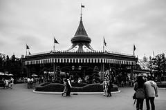 Merry Go Round in Disneyland (john.vuong) Tags: horses people carousel merrygoround themepark