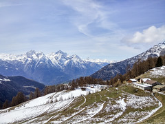 Nus, Aosta Valley, Italy (Dzoyiro) Tags: winter primavera spring italia hiver it hut alpine mont printemps nus valledaosta alpage aostavalley alpeggio valléedaoste emilius porliod