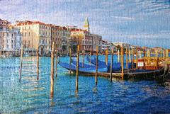 Venice (pefkosmad) Tags: venice italy buildings republic lagoon hobby puzzle photograph leisure jigsaw gondolas pastime laserenissima 1000pieces explorevenice robertfrederick