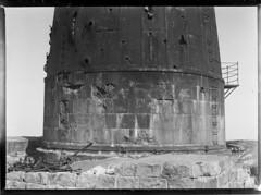 Bogskär; majakan vaurioitunut kivijalka (KansallisarkistoKA) Tags: lighthouse beacon 1920 majakka bogskär