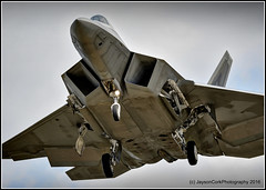 F-22 (JaysonCork) Tags: photography fighter force martin florida cork air landing raptor stealth missile f22 approach lockheed base raf jayson fs squadron deployed tyndall 95th lakenheath supremacy superiority 95fs amraam 95thfs