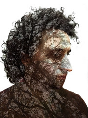 Quercia Gamba (cgamba78) Tags: selfportrait oak curly autoritratto narciso gamba quercia nasone truedetective befano tristesolitarioyfinal rustcohle