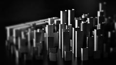 Approaching stapilopolis (mostaphaghaziri) Tags: city white black macro table nikon top f micro 28 mm 105 nikkor staples d7200
