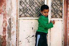 IMG_4307.JPG (esintu) Tags: door boy portrait metal turkey kid child shy gaziantep syrian
