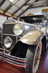 Packard (magaroonie) Tags: car vehicles packard week43 eastlothian 7daysofshooting geometrysunday myresidemotormuseum