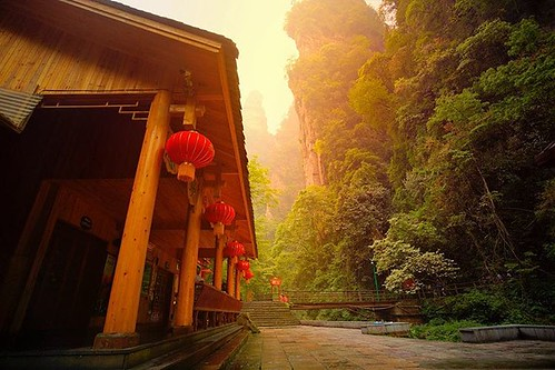 The picturesque #zhangjiajie national park, China. We spent a few days getting lost in this amazing place!! _______________________________________   www.AmandaHughesPhotography.com 👍Facebook.com/photographybyamandahughes   ______________________