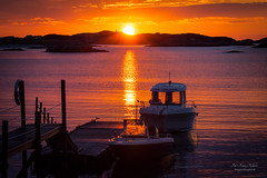 Serenity (Northernphoto) Tags: sunset lighthouse norway boat visit solnedgang sommarya northernphoto